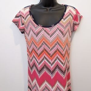 International INC maxi dress small